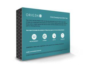Child Development DNA test Back of Box