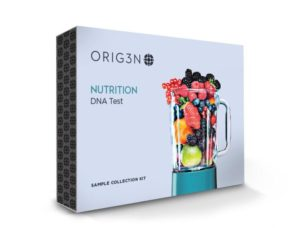 Nutrition DNA test front of box